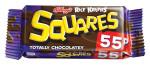 Kelloggs Squares Tot Choc 55p