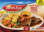 Birds Eye Roast Beef Dinner-PMP £2.50
