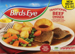 Birds Eye Roast Beef Dinner-PMP £2.50